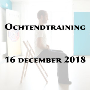 Ochtendtraining 16 december