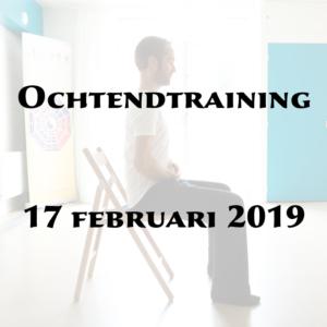 Ochtendtraining 17 februari 2019