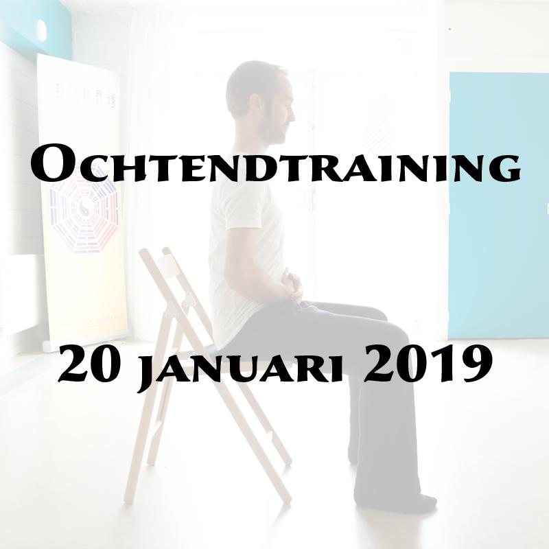 Ochtendtraining 20 januari 2019