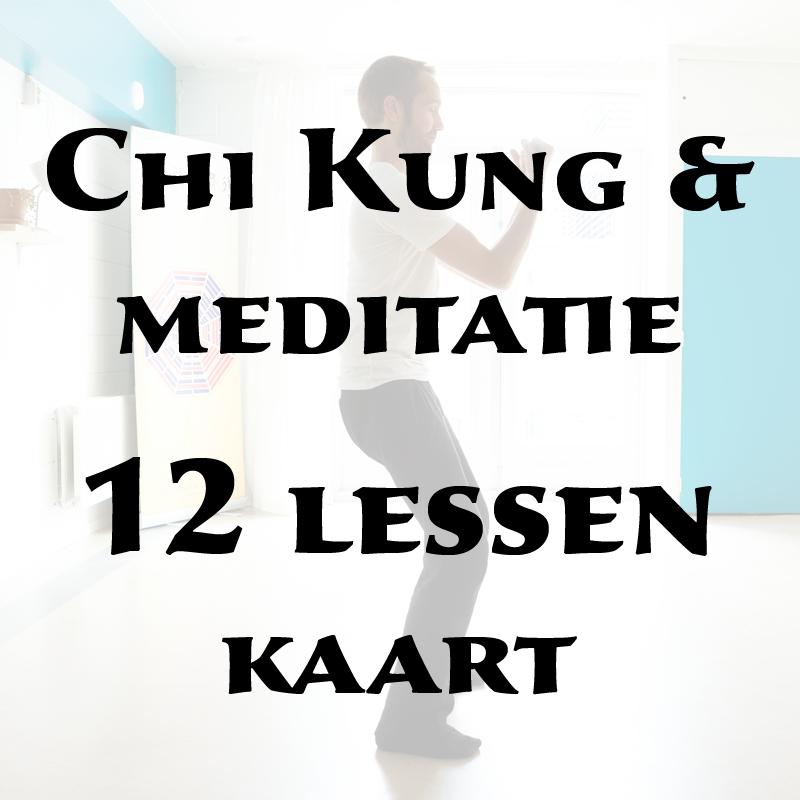 Chi Kung & meditatie | 12 lessen kaart